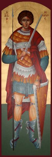 [Icon of St. George]